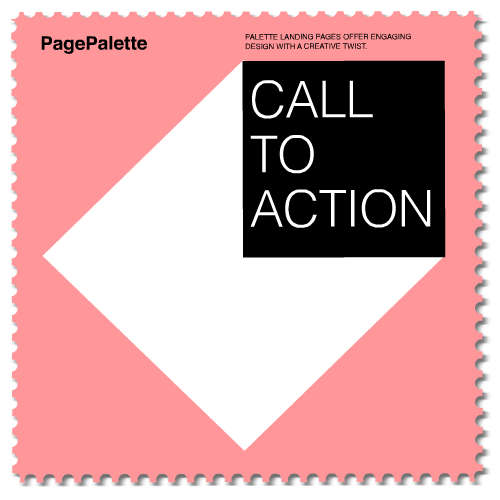 pagepalette - Call to action